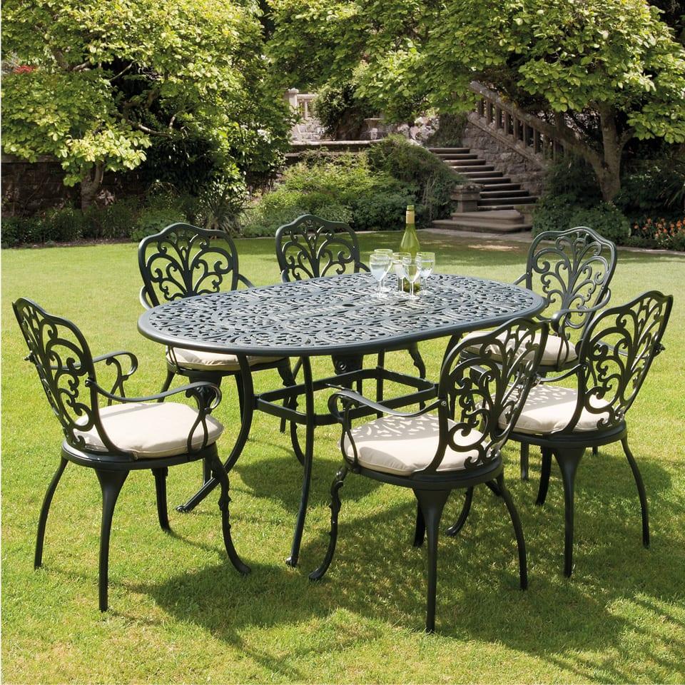 花园|铸铝桌椅