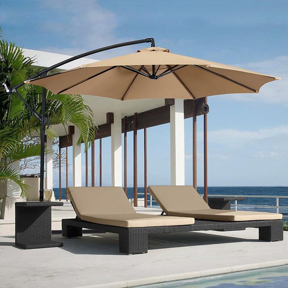 酒店|花园|海滩|公共场所|太阳伞|躺床