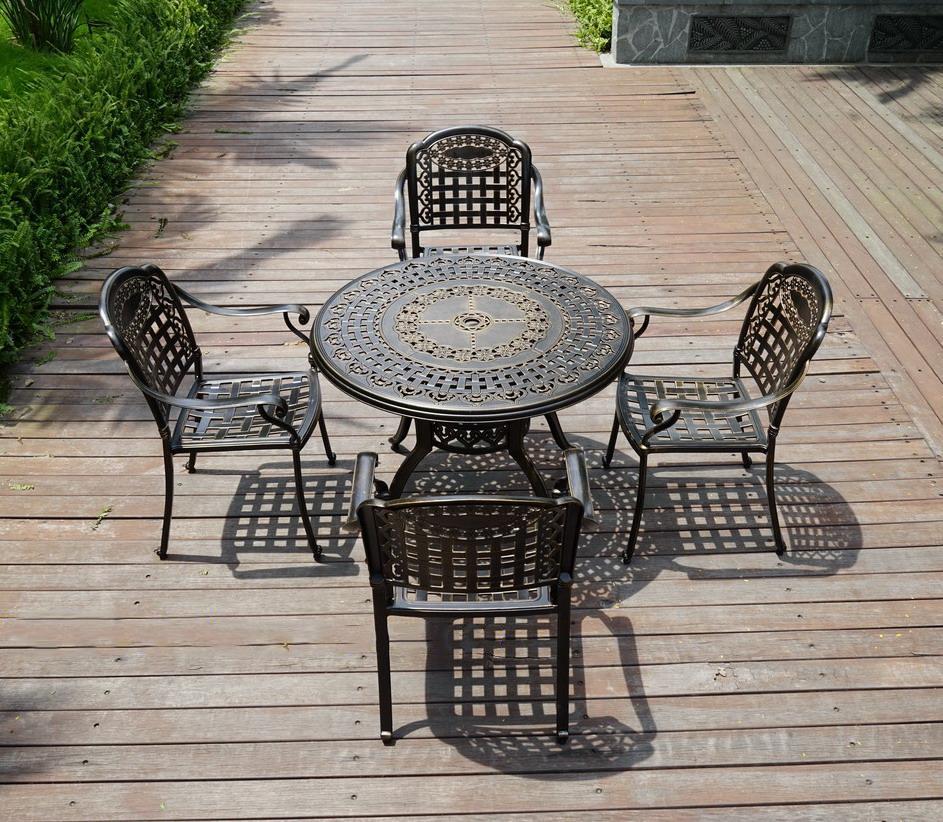 SY-9114TC 铸铝桌椅