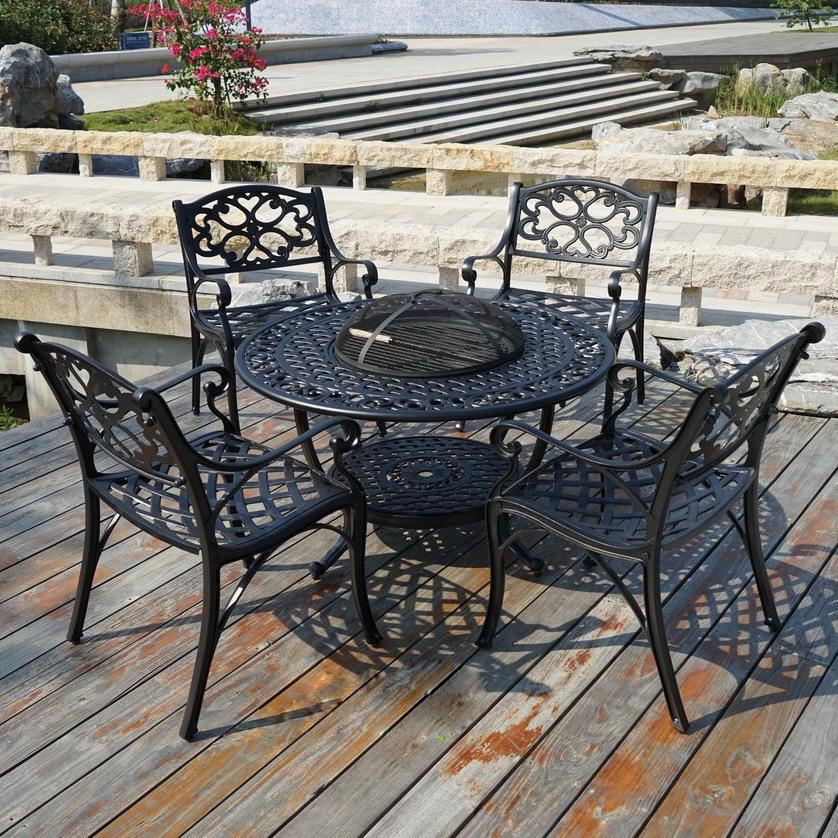 SY-9092TC 铸铝桌椅